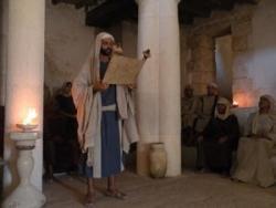 Чтение Торы в древней синагоге