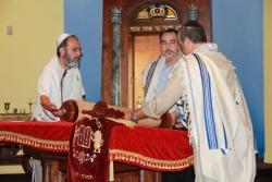 Чтение Торы в еврейской адвентистской общине (штат Флорида, США)