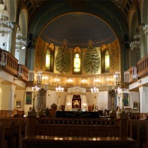 Интерьер Московской Хоральной Синагоги